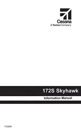 Cessna 172S 1998 & Up Pilot's Information Manual (part# 172SIM)
