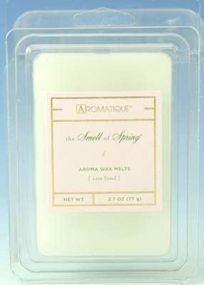 Aromatique SMELL OF SPRING - CASE OF 12 WAX MELTS by
