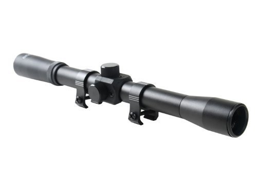 Noga F7 4x20 Entry Level Air Rifle Gun Scope Telescopic Sight with Mounts (Best Entry Level Rifle Scope)