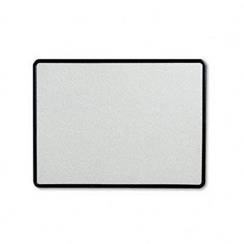 Quartet 699375 Contour Granite Gray Tack Board, 48 x 36, Black Frame
