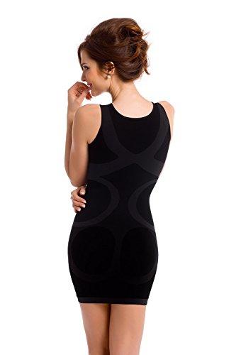 Envie Mujer Body Shapewear vestido figurformend Negro - negro
