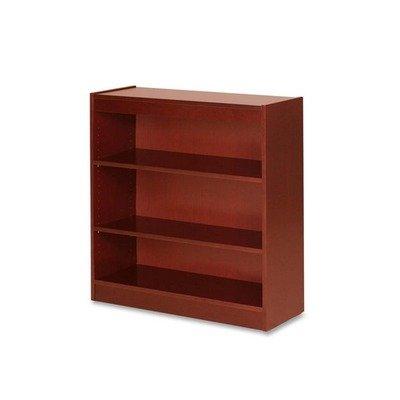 (LLR89051 - Lorell Three Shelf Panel Bookcase)