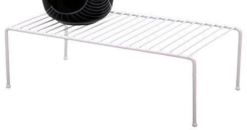 Grayline 40710, Jumbo Kitchen Helper Shelf, White (2, Jumbo)