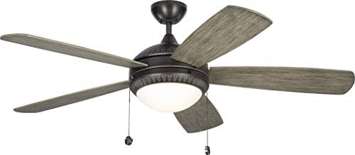 Monte Carlo 5DIO52AGPD Discus Ornate 52″ Ceiling Fan