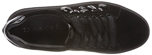 056 De Zapatos Para Negro black Mujer Cordones black Derby Tamaris 23702 4qvE6Ow
