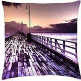 beautiful autumn park - Throw Pillow Cover Case (18