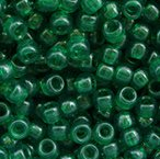 JOLLY STORE Crafts Christmas Tree Green Transparent Pony Beads 9x6mm 500pc