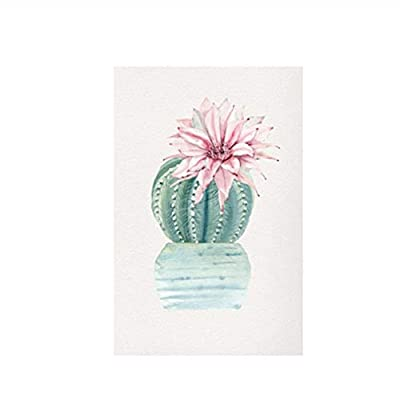Water Color Green Plant Cactus Succulent Plant Canvas Painting Nordic Poster Garden Wall Art Pictures for Living Room Decor-40x60cmx3 Pcs No Frame: Home & Kitchen