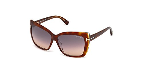 Tom Ford TF390 53F Tortoise Irina - Brown Cats Eyes Sunglasses Lens Category - Frame Cat Optical Ford Tom Eye