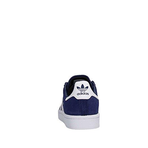 adidas Campus - Tobillo bajo Unisex Niños Azul (Dark Blue/footwear White/footwear White)