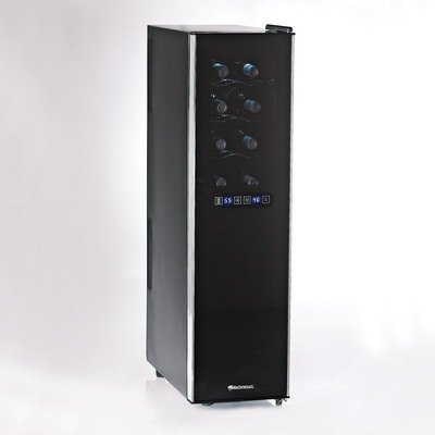 Wine Enthusiast 18-Bottle Touchscreen Wine Refrigerator (Slimline - 2-Temp)