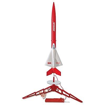 Estes Javelin Flying Model Rocket Launch Set Kit: Toys & Games