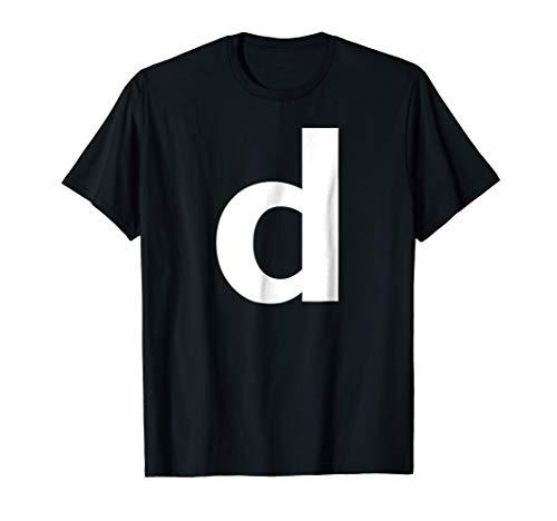 Alphabet Letter D (small lower case) Tee Shirt]()
