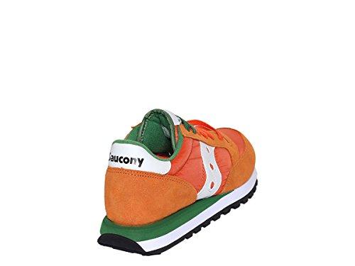 Uomo Jazz Original Saucony Camoscio Sneakers Scarpe Arancio Nuove qpWpwS4cEU