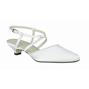 6e4d1108411b5 Amazon.com : Pink Paradox London LILLY-WHITE Lilly Pump in White ...
