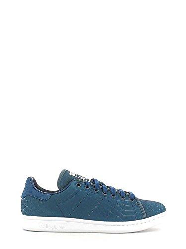 Stan Sneaker Smith S80505 BLU Uomo Scarpe adidas Blu p1ASqggw