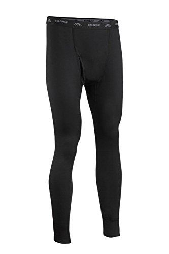 (ColdPruf Men's Journey Performance Base Layer Pant, Black, Medium)