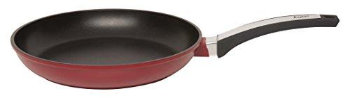 """BergHOFF 11"""" Cast Aluminum Fry Pan, Red"""