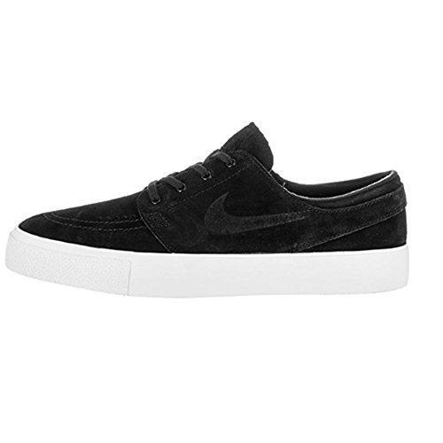 NIKE Mens Zoom Stefan Janoski Prem HT Skate Shoe Black/Black-white RZi09
