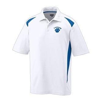 Premier Sport Shirt MEDIUM WHITE AND ROYAL