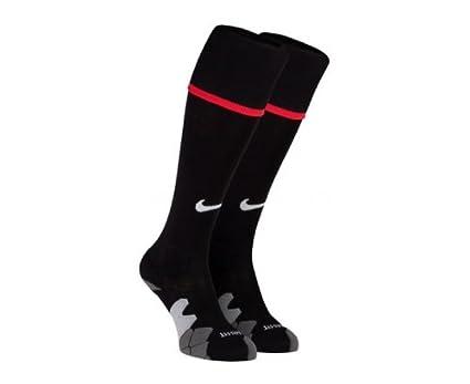 Nike Calcetines de fútbol sala infantil, tamaño L, color negro/diablo rojo/football blanco: Amazon.es: Ropa y accesorios