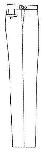 Wilvorst - Pantalon de costume - À Rayures - Homme gris anthracite
