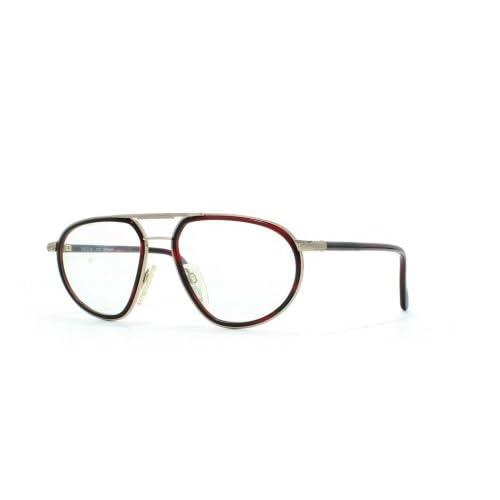 ae8d01bc62 Lovely Metzler - Montura de gafas - para hombre Negro negro/plateado ...
