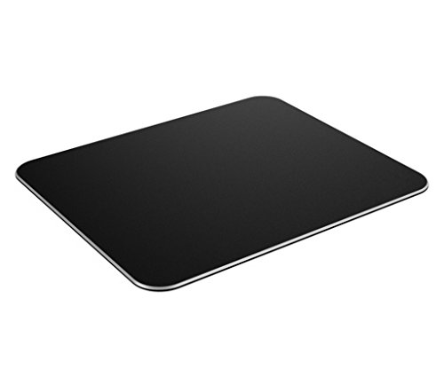 Mouse Pad, Jelly Comb Gaming Aluminium Mouse Pad W Non-slip Rubber Base & Micro Sand Blasting Aluminium Surface for Fast and Accurate Control, Black by Jelly Comb