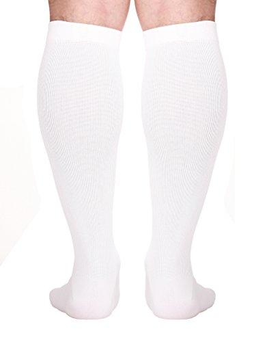 4d059e305f Made in USA - Soft Microfiber Compression Travel Fly Socks For Men - (Medium ,