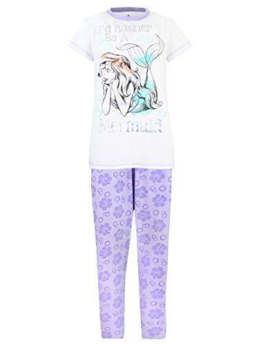Disney The Little Mermaid Womens' Ariel Pajamas Size Small (Disney Womens Pajamas)