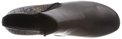Con Nero schwarz schwarz metallic schwarz 02 Remonte Tacco Donna D7364 Scarpe qxw6BEH4P
