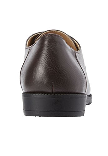 Comfortview Dames Plus Size Whitney Flats Bruin