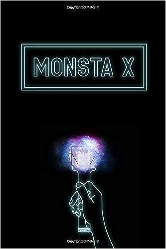 Monsta X Hand Holding Glowing Lightstick Monbebe Fandom Merch Notebook 100 Page 6 X 9 Blank Lined Journal Book For Devoted Kpop Fan Mafia Kpop 9781687227560 Amazon Com Books