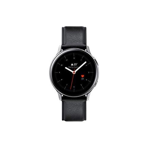 chollos oferta descuentos barato SAMSUNG SM R820NSSAPHE Galaxy Watch Active 2 Smartwatch de Acero 44mm color Plata Bluetooth Versión española