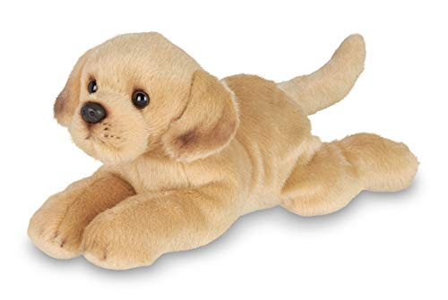 - Bearington Lil' Tanner Small Plush Yellow Labrador Retriever Stuffed Animal Puppy Dog, 8 inches