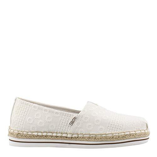 Skechers Women's, Bobs Breeze Eternal Cool Slip on Shoes White 8.5 - Womens Breeze Slip Ons