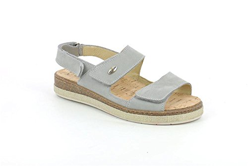 P Sandalo 39 SE0175 Grunland Grigio ESTE Donna fzInqPw