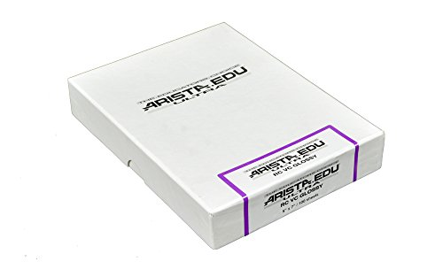 Arista EDU Ultra VC RC Black & White Photographic Paper, Glossy 5x7, 100 Sheets