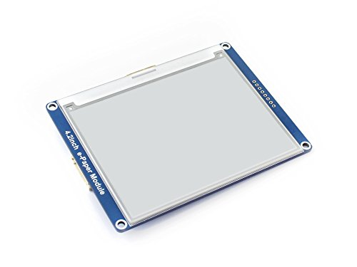 4.2inch E-Ink Display Module E-paper Electronic Screen Panel296x128 Resolution SPI Interface Examples for Raspberry Pi/STM32/Arduino Provided by waveshare (Image #1)