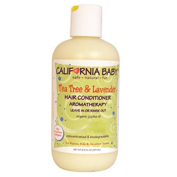 California Baby Tea Tree & Lavender Hair Conditioner - 8.5 oz (Sweet Baby Conditioner compare prices)