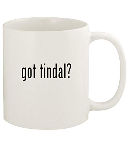 got tindal? - 11oz Ceramic White Coffee Mug Cup, White