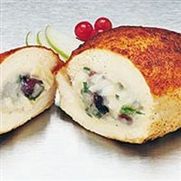 Today Gourmet - Chicken - Creme Brie & Apple (12 - 8oz Breasts)