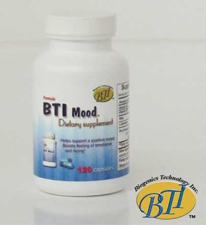 Mood BTI, un produit naturel à l'équilibre l'humeur réduire l'anxiété, Temper contrôle et de symptômes de dépression