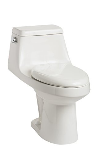 Mansfield Plumbing 708 Aegean ADA One Piece 1.28 GPF (Includes Toilet seat), White