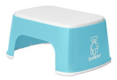 BabyBjörn Step Stool, Deep Blue/White