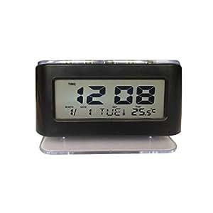 YUCH Reloj Despertador Led Acrílico Reloj Electrónico Estudiantil ...
