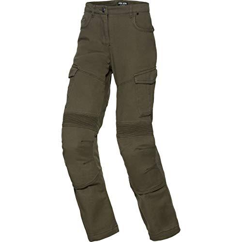 Spirit Motors Motorrad Jeans Motorradhose Motorradjeans Damen Cargo Hose 1.0, Chopper/Cruiser, Sommer, Textil