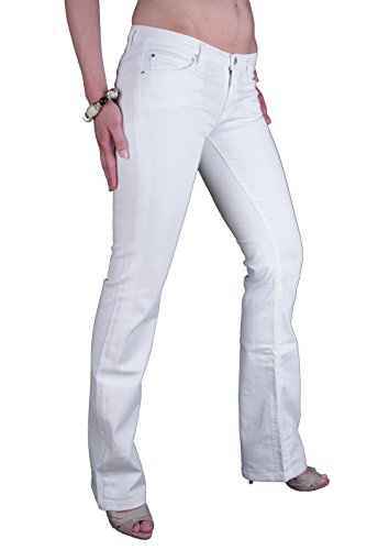 7 Donna All Bianco Jeans Mankind For r48xZqr