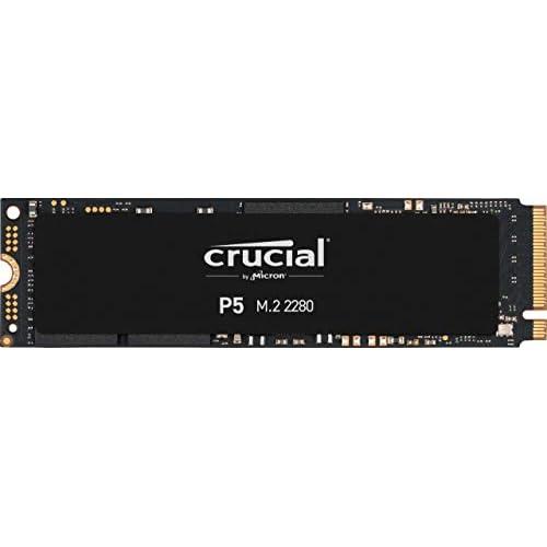 chollos oferta descuentos barato Crucial P5 1TB CT1000P5SSD8 Unidad interna de estado sólido hasta 3400 MB s 3D NAND NVMe PCIe M 2 2280SS