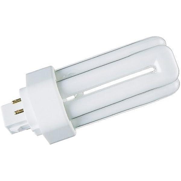 GE Biax Long Last 26W Energy Saving Lamps 4 PIN CFL 840 C1